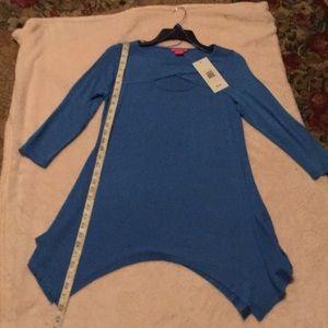 NWT sunny Leigh tunics 1S 1L perfect piece